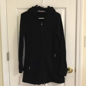 Athleta sweater coat, small